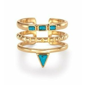 Turquoise Stacked Ring